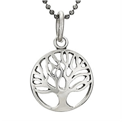 18in Sterling Tree necklace by Tiger Mtn