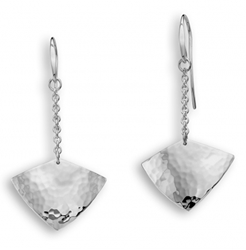 Sterling Artifact earring by Ed Levin
