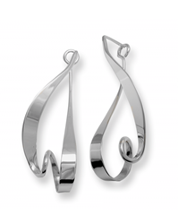 Sterling Kinetic earring by Ed Levin