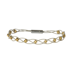 Interlude two tone bracelet (shipping included)