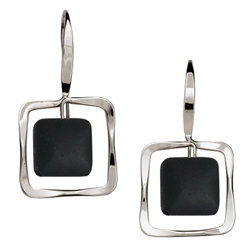 Sterling Zenith earrings by Ed Levin