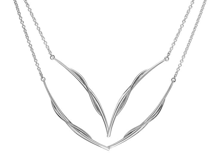 18in Sterling Vineyard Swing necklace by Ed Levin