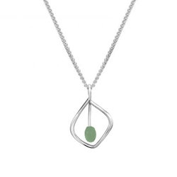 Sterling Highlight Pendant by Ed Levin
